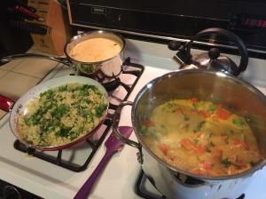 Thai Curry & Coconut Soup